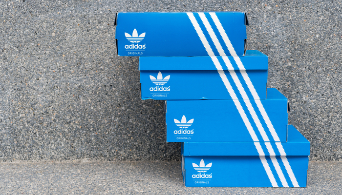 Adidas is on a downward slope