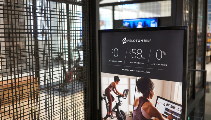 Peloton gets financial muscles pumped