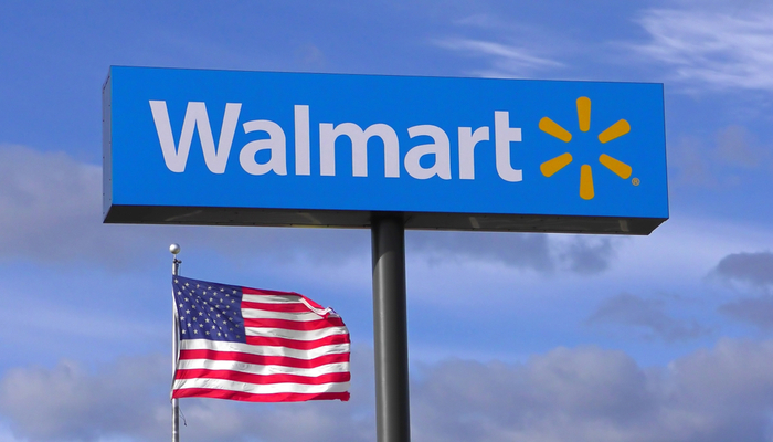 Online shopping makes Walmart shine