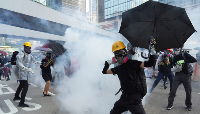 Hong Kong protests again!