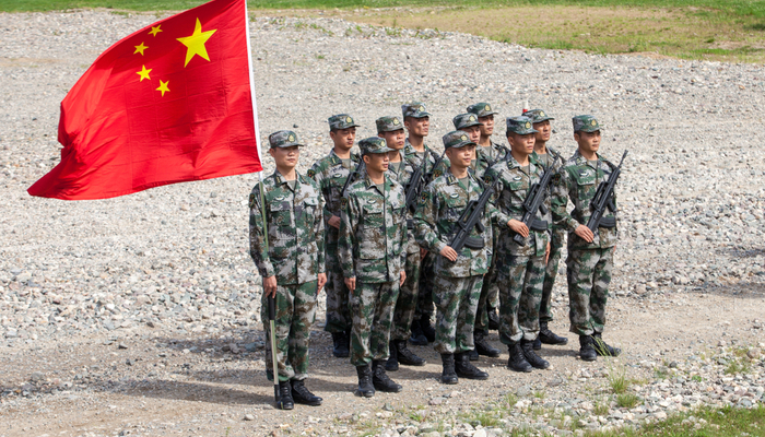 China prepares its army