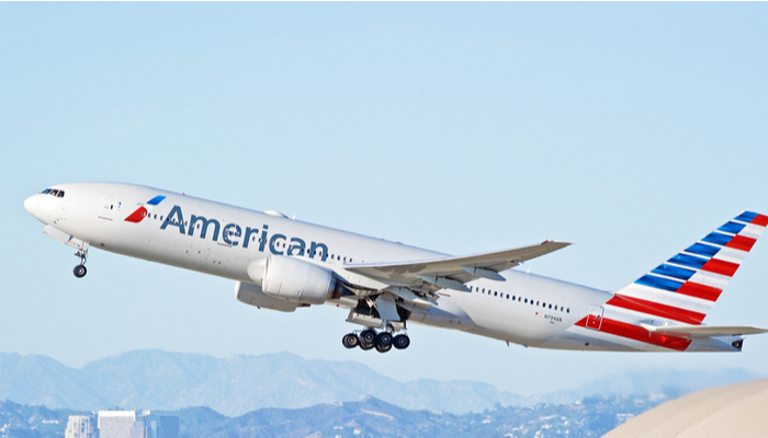 American Airlines is flying again