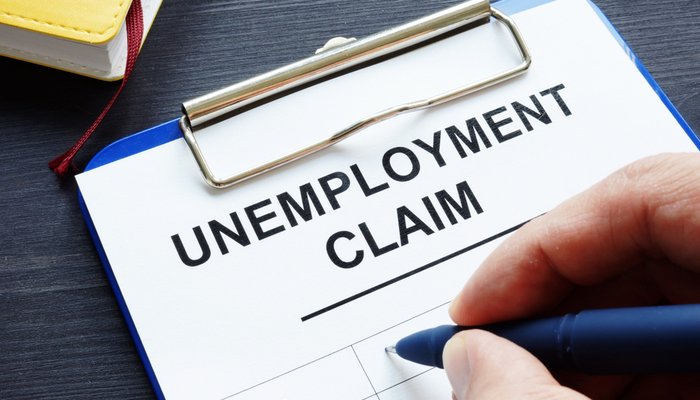 Better than expected unemployment claims