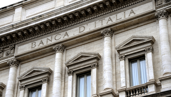 Bank of Italy: -9.5% GDP forecast for 2020