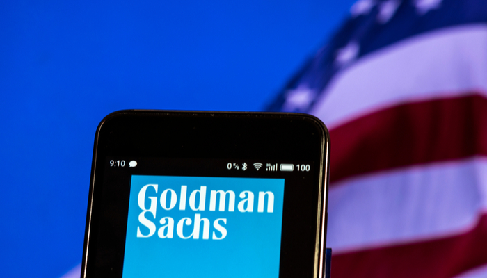 Cha-Ching for Goldman Sachs
