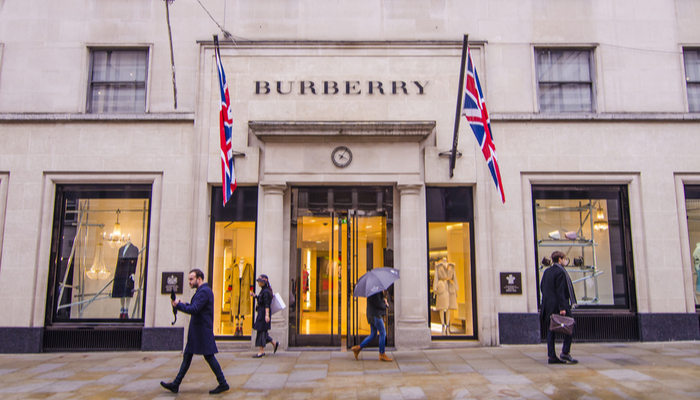 Burberry feels the pandemic's impact