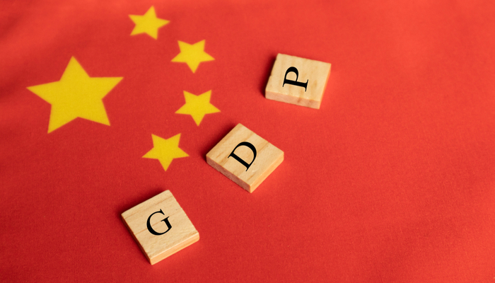 China's GDP is on an upward trend