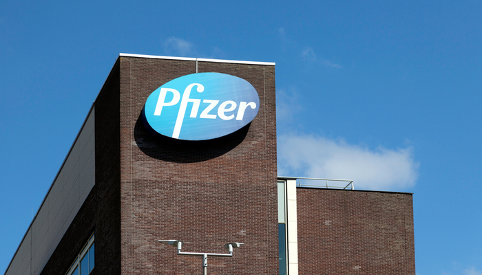 Pfizer beat the expectation even though it fell short on revenue
