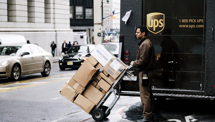 UPS had a great performance in Q3