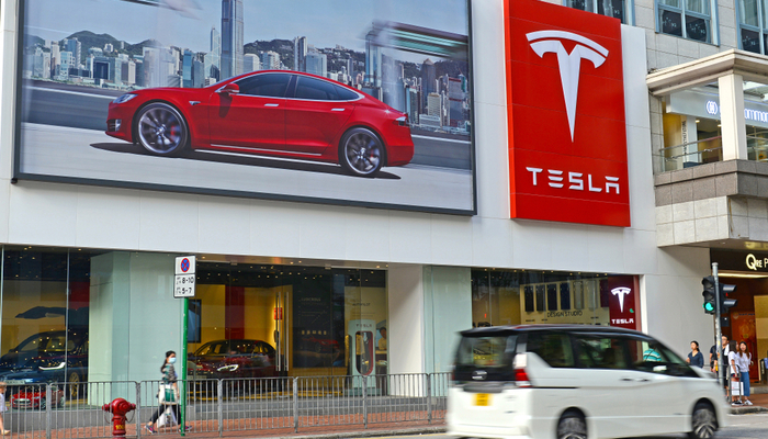 Tesla to start 2021 trading at record highs