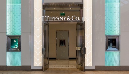 Tiffany's holiday net sales reached record highs