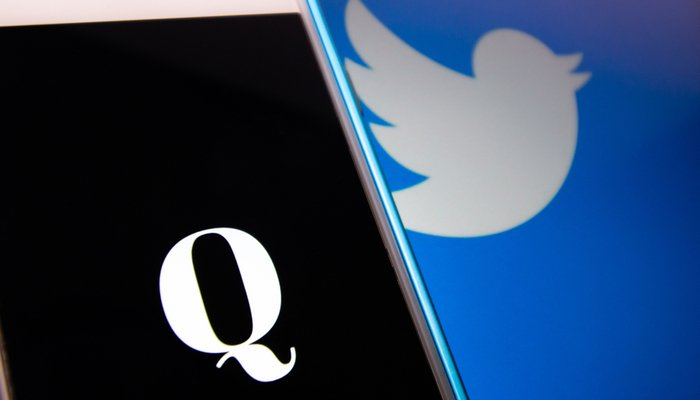 QAnon content removed from Twitter, Facebook, Amazon