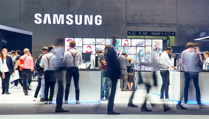 Samsung lower amid bribery scandal