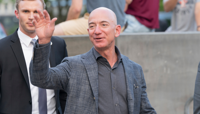 Jeff Bezos to step down as Amazon's CEO