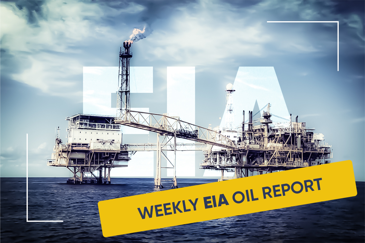 Weekly Oil Data Report from EIA