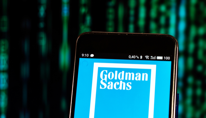 Record first-quarter figures for Goldman Sachs