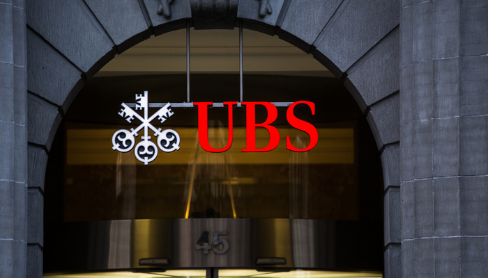 UBS reported a 14% profit increase in Q1