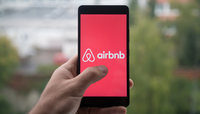 Airbnb's quarterly figures have been impacted by the pandemic
