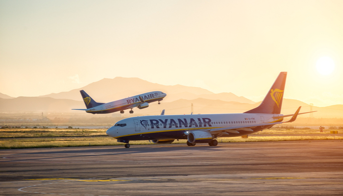 Record annual loss for Ryanair