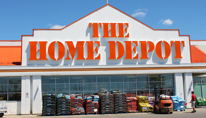 Home Depot reported a 32.7% jump in sales in fiscal Q1
