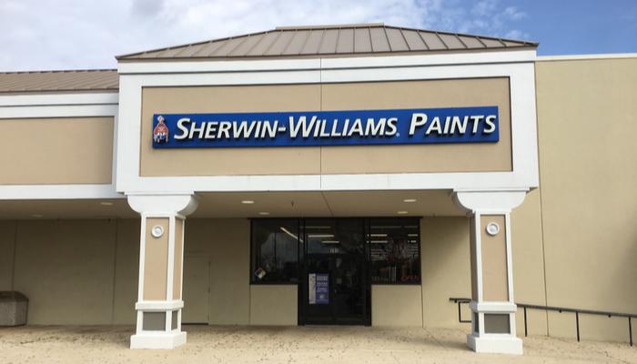 شركة Sherwin-Williams تلفت الأنظار بعد صدور أخر أرقامها